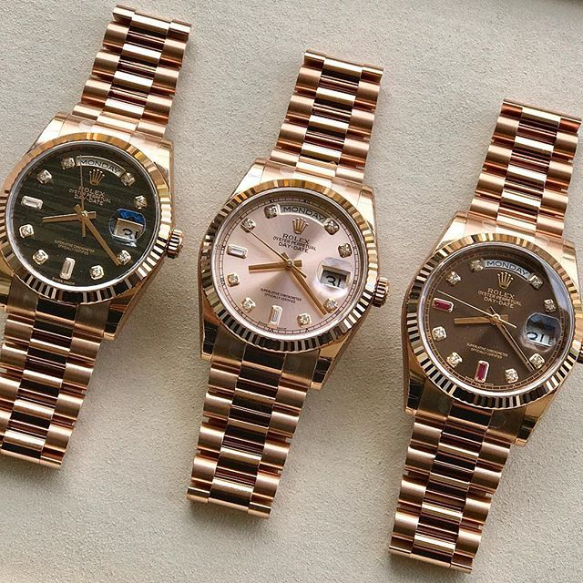 DAY DATE 36mm What's your favorite dial ? Ref 118235 | http://ift.tt/2cBdL3X shares Rolex Watches collection #Get #men #rolex #watches #fashion