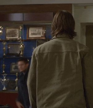 <3 #J2 #Supernatural gag reel  [gif] - funny!