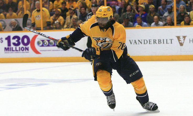 PK Subban fined for embellishment by NHL = Nashville Predators defenseman PK Subban is one of the NHL's most talented blue liners. He's a Norris Trophy winner and already has seven points in 10 postseason games for the Predators this year. While his on-ice talent is clearly there the dynamic Toronto native also has a bit of an issue with embellishment. He's been fined…..