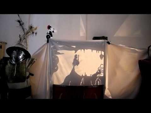 Scena 4 din teatrul de umbre Perseu si Medusa - Virtus Antiqua - YouTube