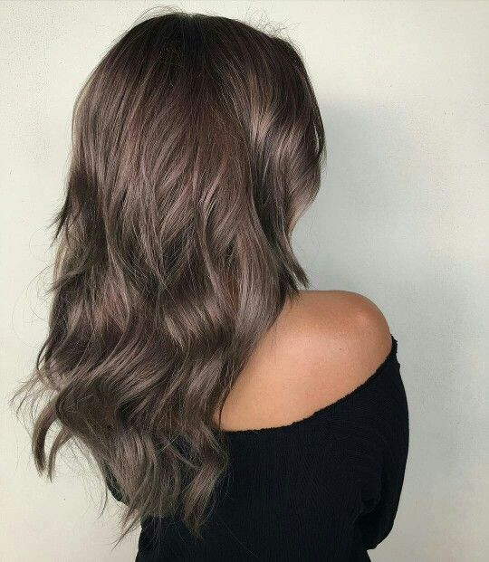 Dusty metallic brown hair ♡