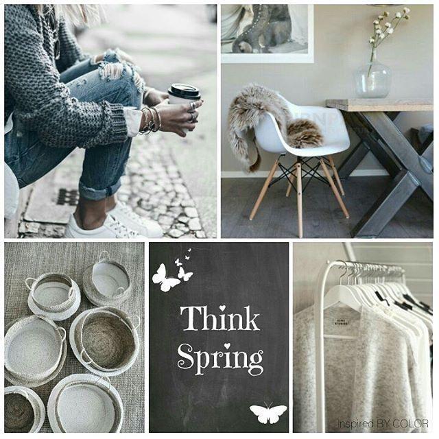 Think Spring… #moodbaord #lifestyle #fashion #interior #spring #sunshine #love #inspiredbycolor