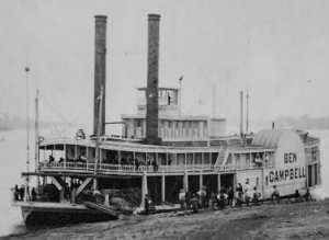 Steamboats were created by James Watt in 1769. The first steamboats carried passengers from Philadelphia and Burlington, New Jersey. John Fitch was granted his first patent for a steamboat in 1791.