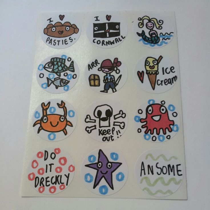 Comwall Design Decals : Stickers and Handmade on Pinterest