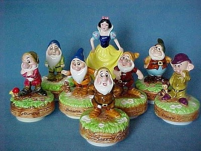 Disney Snow White Amp The Seven Dwarfs Complete Set Schmid