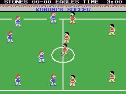 MSX Konami's Soccer