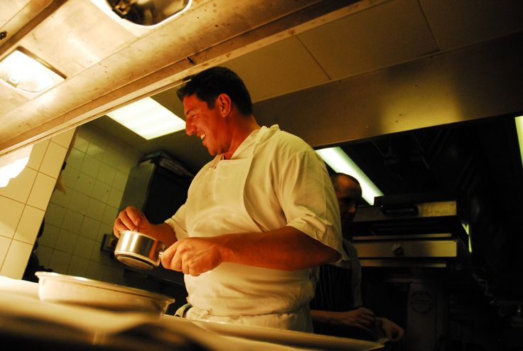 Claude Bosi on the pass at Hibiscus, London