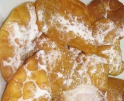Recetas tradicionales de la gastronomia gallega / OREJAS DE CARNAVAL::