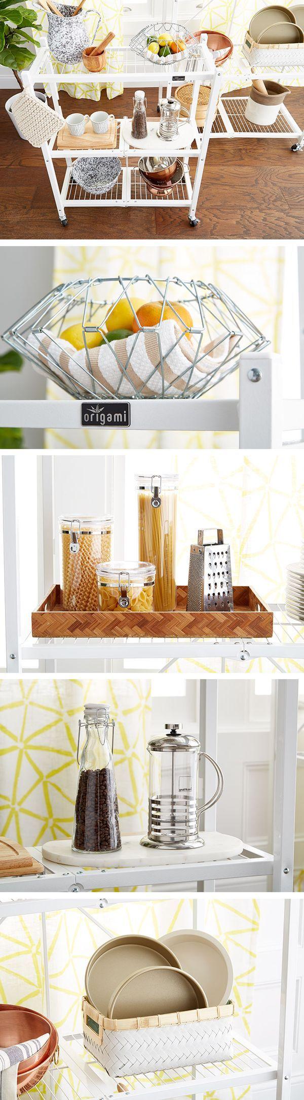 109 best shelving images on pinterest container shop container origami 3 shelf folding rack jeuxipadfo Choice Image