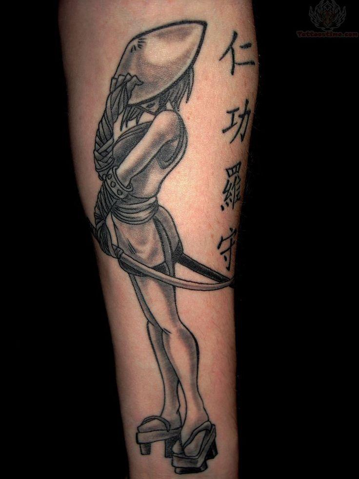 17 best anime girl samurai tattoos images on pinterest for Female samurai tattoo