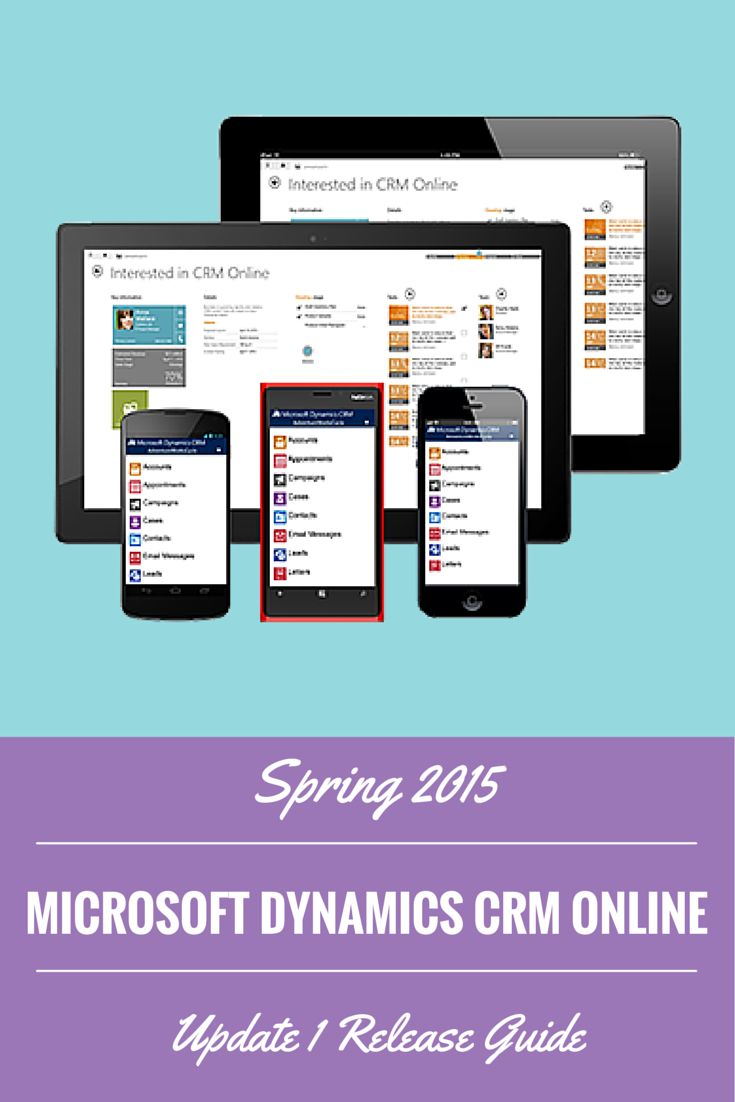 CRM 2015 Update 1 Spring 2015 is the latest update for Microsoft Dynamics #CRM Online. Here are just some of the many new features available in the Spring 2015 update. #MSDynCRM