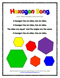 what the hexagon is that shape hexagon song freebie by lil 39 country kindergarten math. Black Bedroom Furniture Sets. Home Design Ideas
