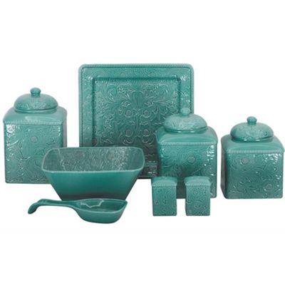 western dinnerware | DI4001_Turquoise_Western_Dinnerware.jpg