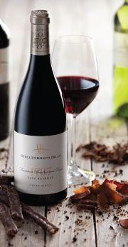 Stellenbosch Hills wine and biltong pairing