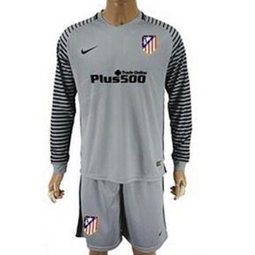 Camiseta Atletico de Madrid manga larga gris 2017