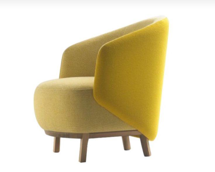 Семейство компактной мягкой мебели Concha парижского дизайнера Самуэля Эккосиберри .