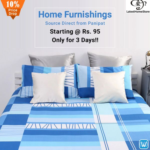 Retailers, source home linen direct from Panipat only on Wydr Wholesale E-Commerce. Assured Quality! SuperFast Delivery! Visit #Wydr and buy in bulk now!
