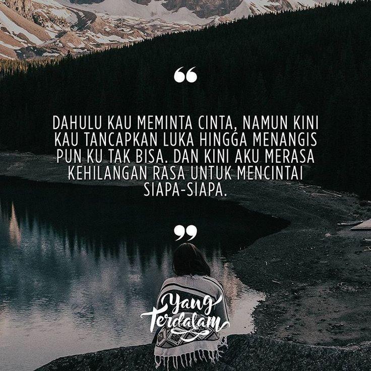 Untuk apa rasa ini ada jika tak lagi untuk siapa-siapa. Kiriman dari @dwiasha #berbagirasa #yangterdalam #quote #poetry #poet #poem #puisi #sajak