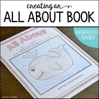 Each year my 1st grade students research animals and create their own All About Books! This pack guides you step-by-step as you help your kids discover their love for non-fiction texts and writing.