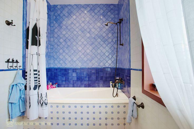 """ванная в загородном доме  """"Дом в стиле Прованс"""""""