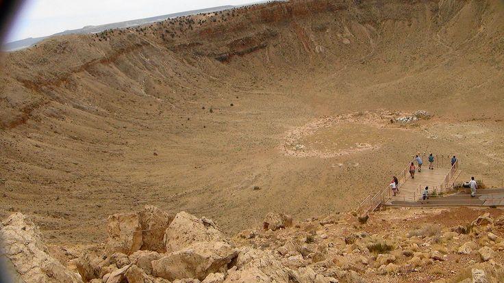 путешествия и прочее - Метеорит в штате Аризона