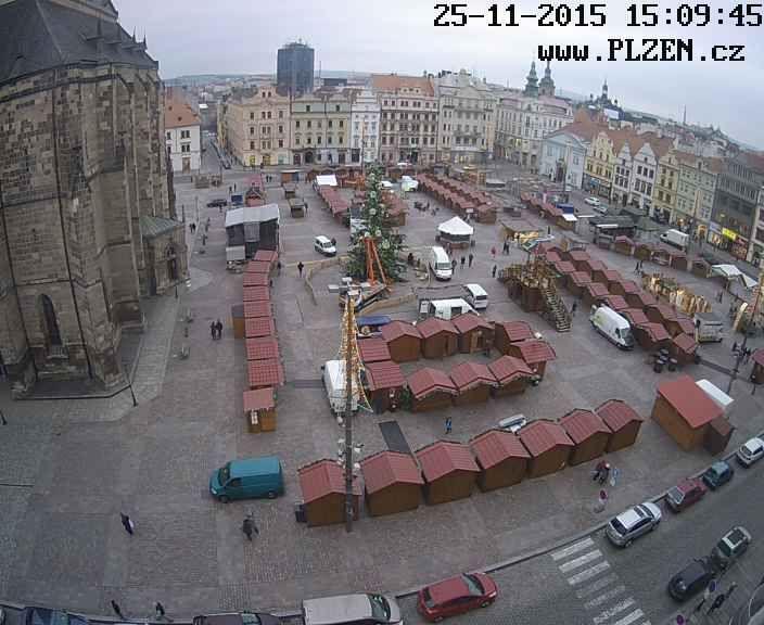 Kamera, Plzeň.cz >>> http://plzen.cz/kamera  Obraz je snímán kamerou dodanou společností  DELTA Plzeň s.r.o. zabývající se montáží EZS, EPS, CCTV a bezpečnostních a dalších folií na sklo.