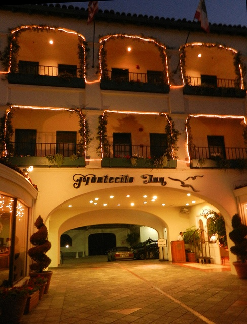 Montecito Inn in Montecito, California. The inn was owned by Charlie Chaplin.
