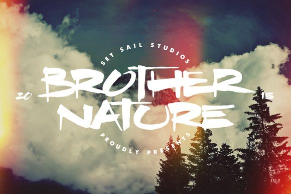 Brother Nature by Sam Parrett on @creativemarket