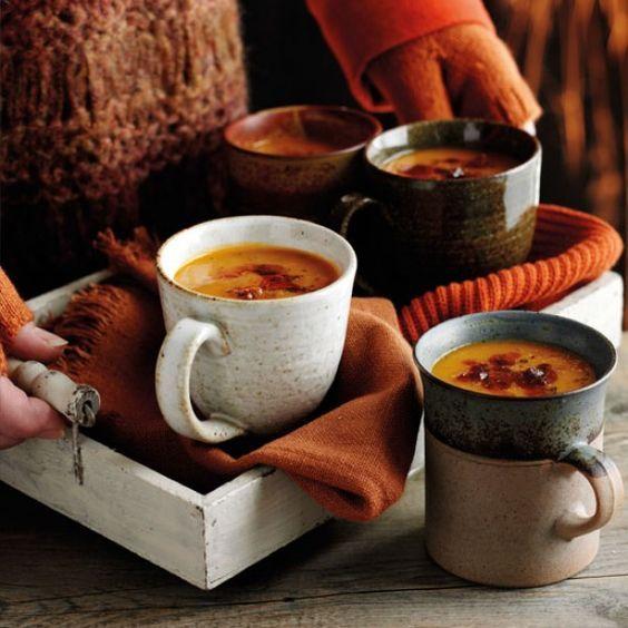 Reasons to love autumnal festivities, hot pumpkin spiced drinks