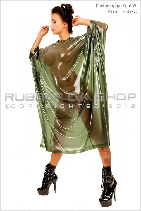 long hooded rubber poncho coats jackets rubber eva shop latex shopping. Black Bedroom Furniture Sets. Home Design Ideas