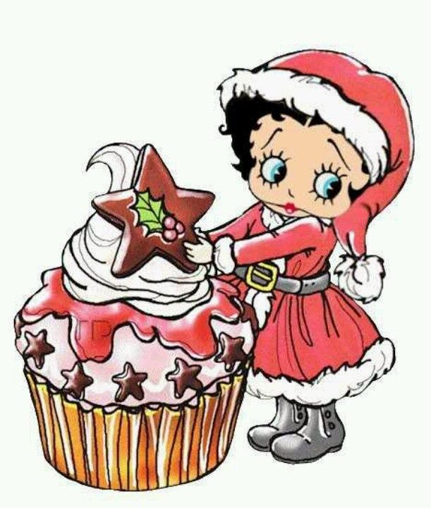 Image result for fans of betty boop christmas