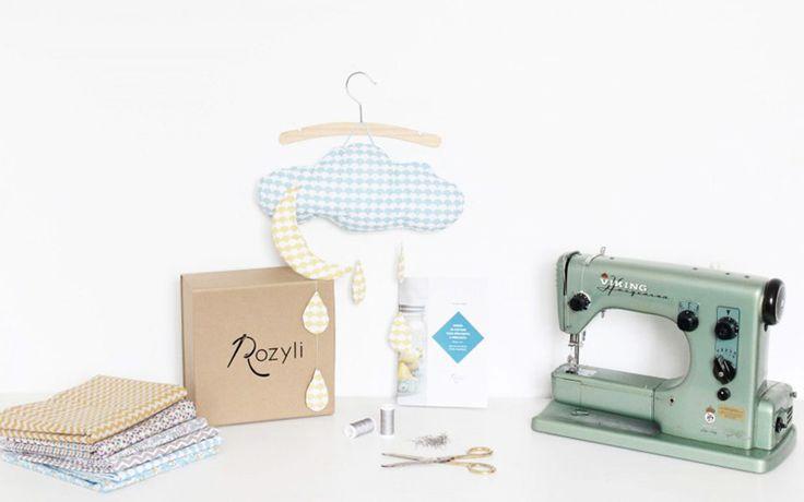 Rozyli, la box couture pour bébé.
