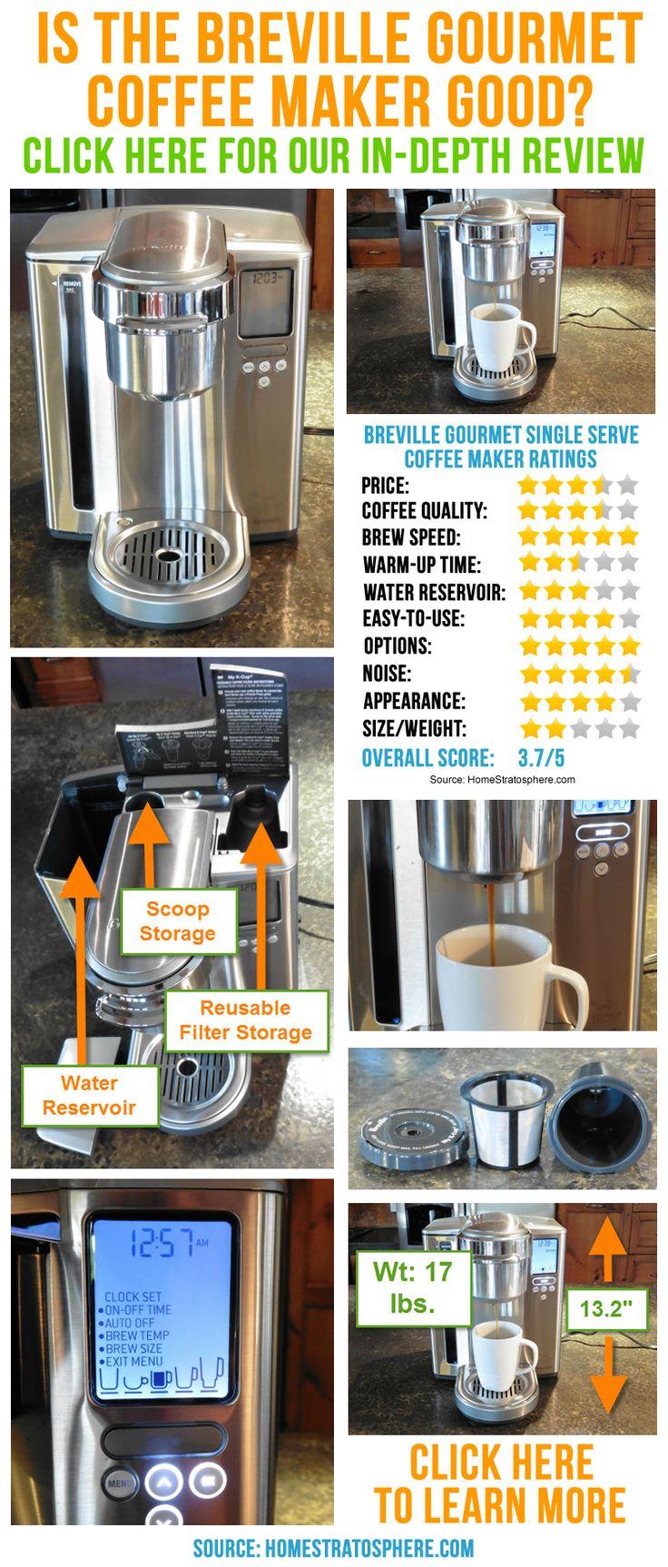 Breville Gourmet Single Serve Coffee Maker Review (bkc700xl)