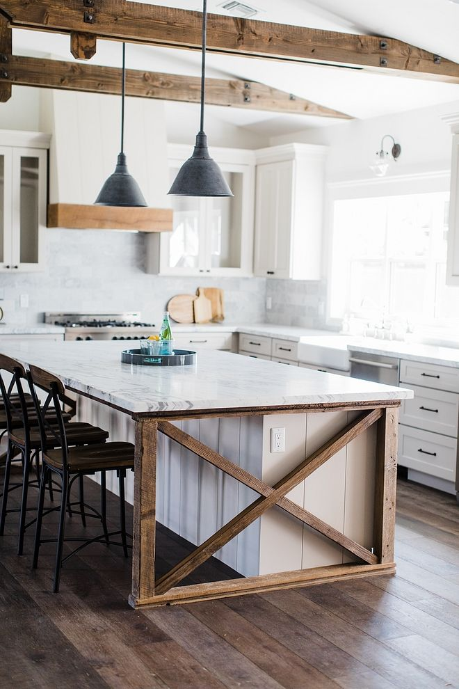 Best Kitchne Island The Island Ends Feature Vertical Shiplap To 400 x 300