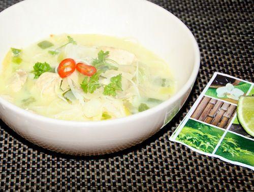 5 or less: Thaise kokossoep