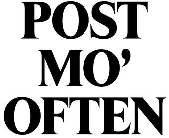 POST-MO-OFTEN