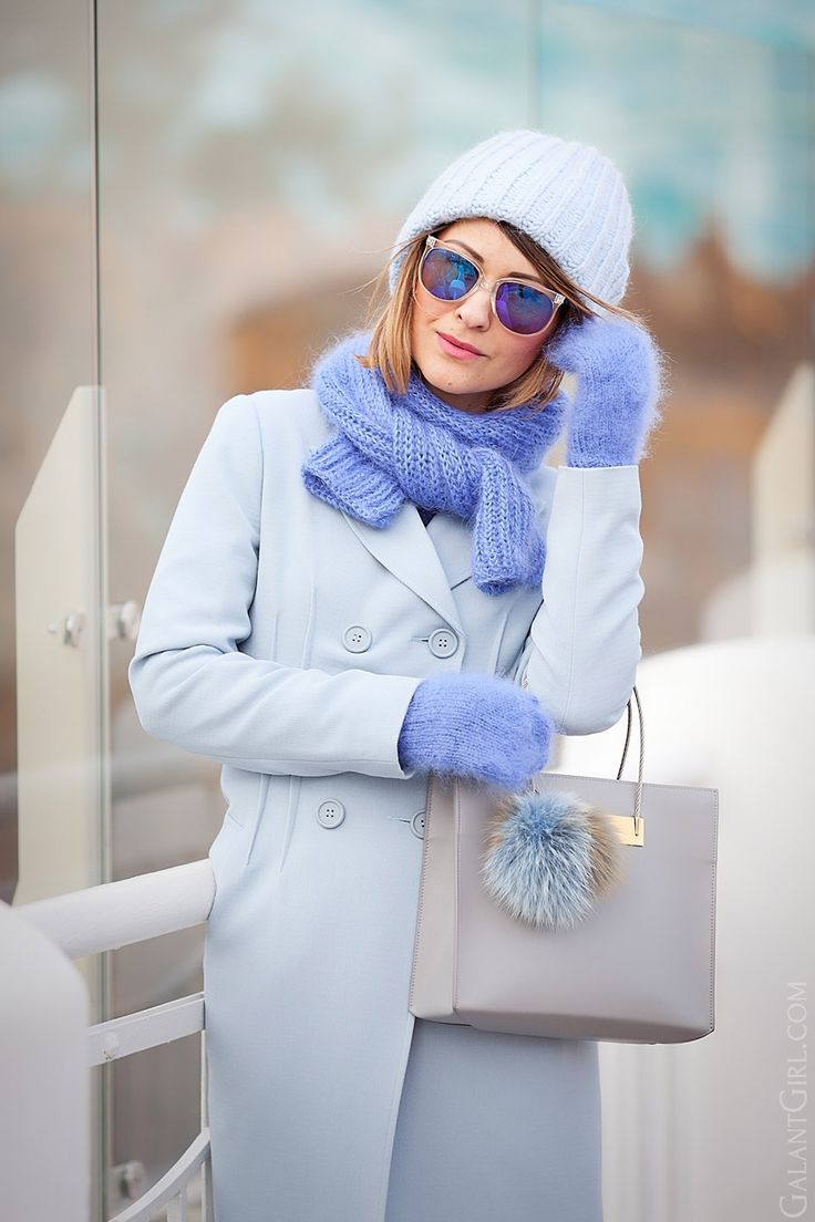 С чем носить светлое пальто Пастельный цвет в одежде #pastel_coat_outfit