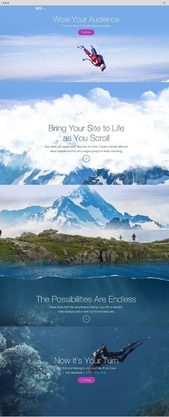 Tell Your Story in 3D with Parallax Scrolling