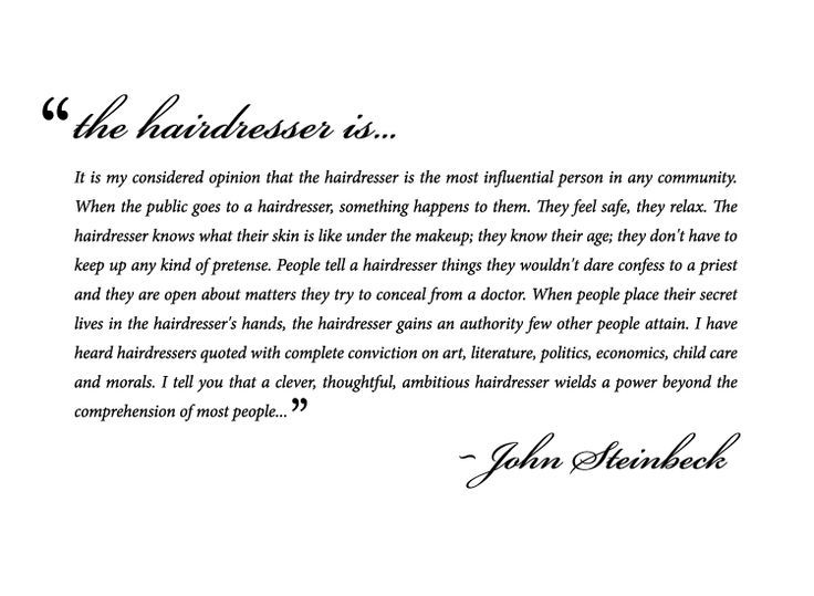 sayings about hairdressers - Google Search