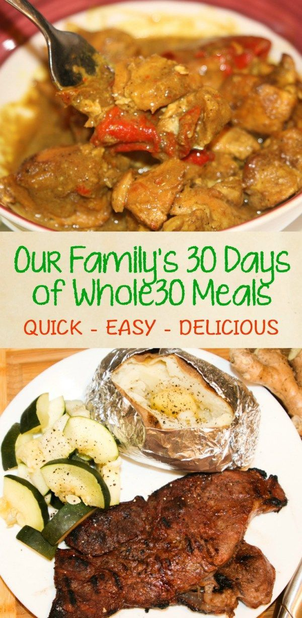 Thirty Days of Whole30 Recipes - 30 Days of Whole30 Recipes -Our family is on a quest for a simpler, healthier life.