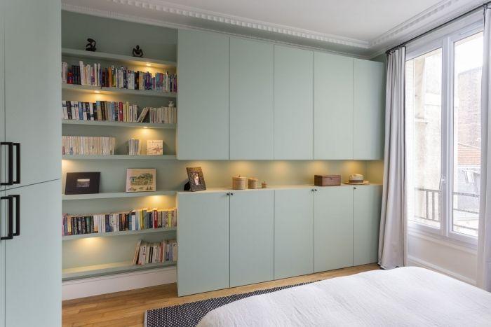 110 m² - Boulogne aménagé et décoré par la décoratrice d'intérieur Vanessa Faivre