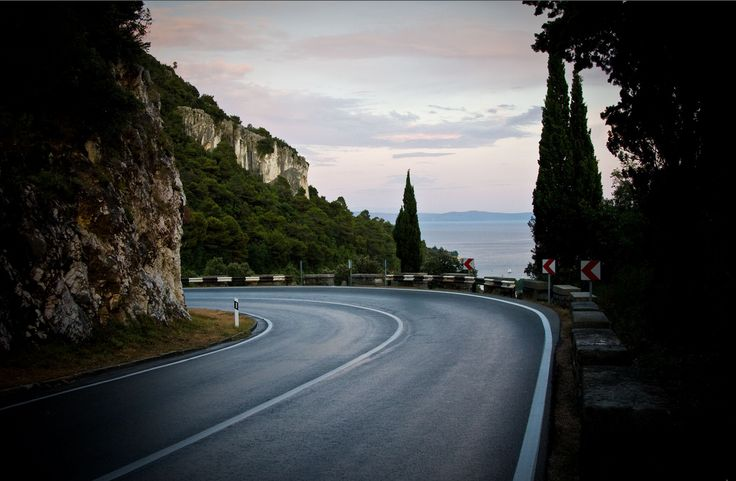 Road to Rabac