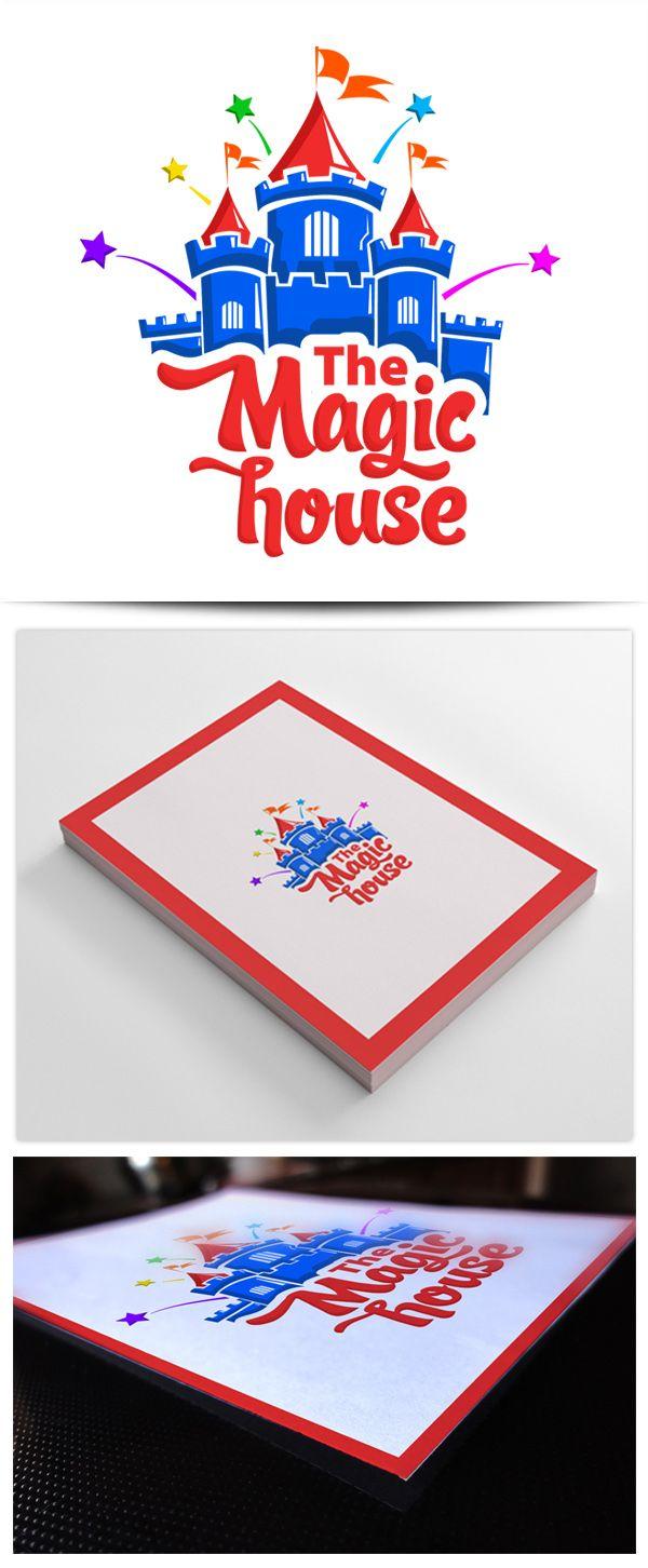 Logo Design-  Magic House