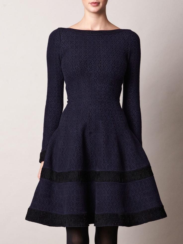 *** Navy blue dress