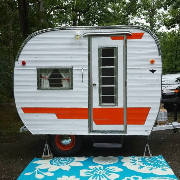 1964 Cardinal TINY Vintage Trailer For Sale