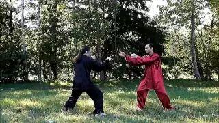 Combat Tai Chi (Taiji Quan). Chen Style Fighting Techniques. Master G. Paterniti.
