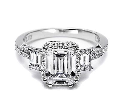 Tacori Engagement Ring, my dream ring :) I think the cut is so unique for an engagement ring