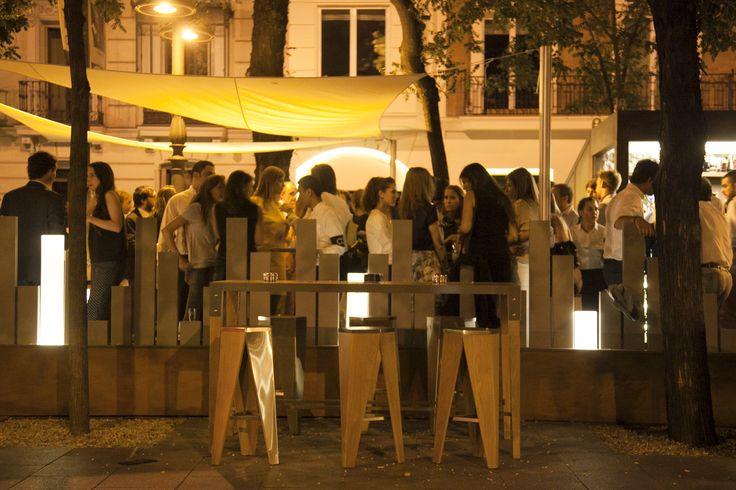 Inauguración de la terraza de verano de OTTO Madrid, en pleno Paseo de la Castellana.
