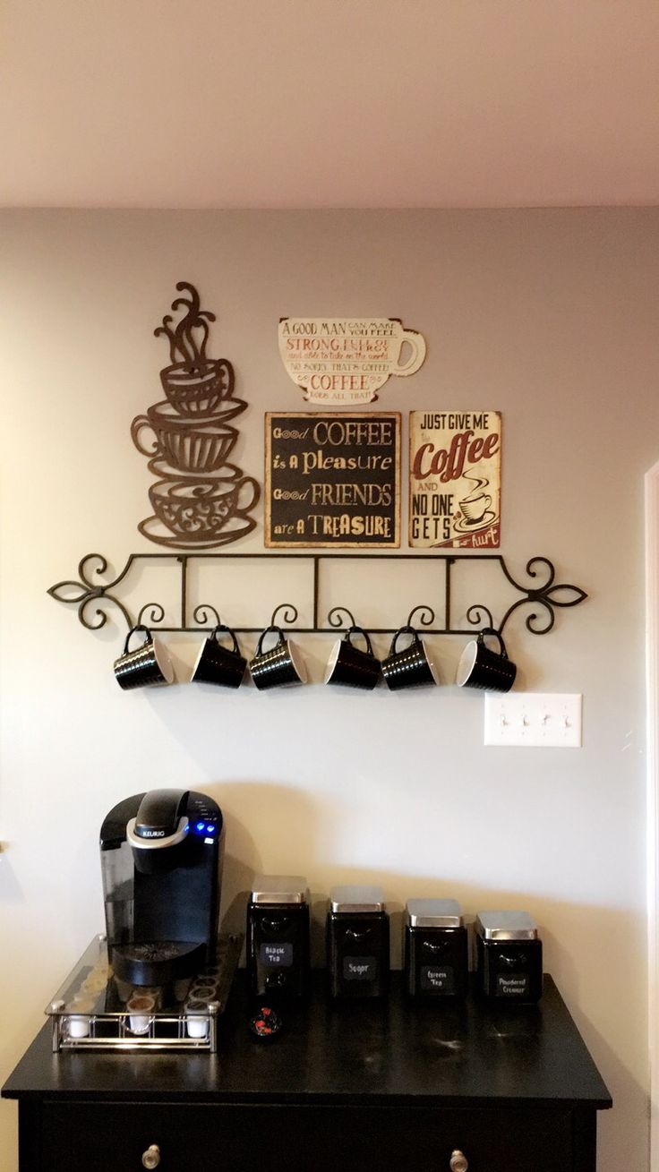 Cafe Themed Kitchen Decor Painted Chairs Best 25+ Coffee Theme Ideas On Pinterest | ...