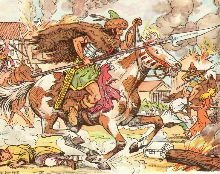 Les Huns d'Attila, venus d'Asie Centrale